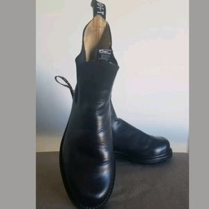 Jhon Fluevog Angels Chelsea Black Leather Boot 10